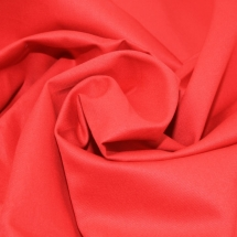 red heavy weight cotton drill-dress-fabric-red-per-metre