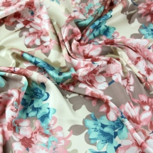 cassandra-3811-peach-john-kaldor-floral-print-slinky-satin-dress-fabric-peach-per-metre