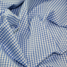 "1/8"" Check Corded Gingham Dress Fabric"