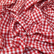 jl-2021r-colour-woven-yarn-dyed-9mm-gingham-cotton-chambray-dress-fabric-red-per-metre