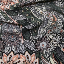 ph-5769-floral-print-crinkle-crepe-dress-fabric-green-peach-per-metre