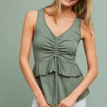 Catherine Ruched Tank